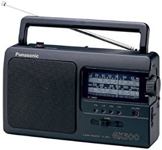 Panasonic RF-3500E9-K - Radio Portátil (FM/AM/LW/SW, 1000