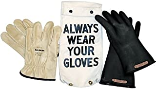 Salisbury by Honeywell GK011B9 Insulated Glove Kit, Class 0, Black, 11