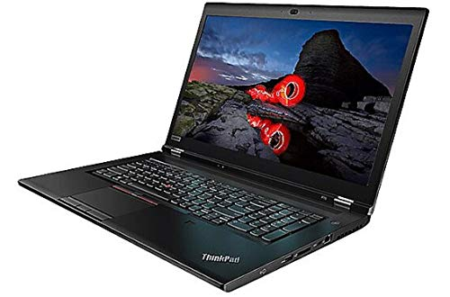 "Lenovo ThinkPad P73 Mobile Workstation 17.3"" FHD Laptop with Intel 8 Core i9-9880H Processor up to 4.80 GHz, vPro, 32GB DDR4, 1TB PCIe SSD, NVIDIA Quadro RT 4000 8GB, Windows 10 Pro 64, and Wi-Fi 6"
