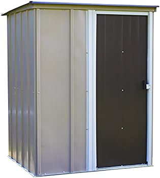 Arrow 5 Inch X 4 Inch Brentwood Steel Outdoor Storage Shed