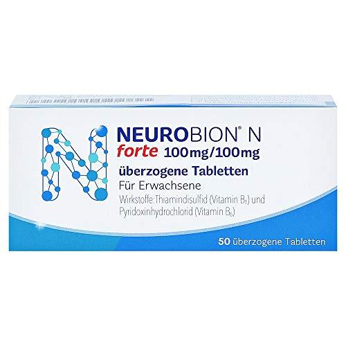 Neurobion N forte Tabletten gegen neurologische Systemerkrankungen, 50 St. Tabletten