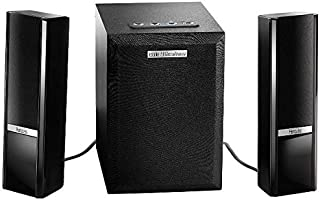 Hercules 4780766 2.1 Gloss Bluetooth Speakers Indoor/Outdoor - Black