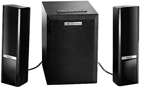 Hercules 4780766 - Altavoces 2.1 (Bluetooth, 4 W) Negro