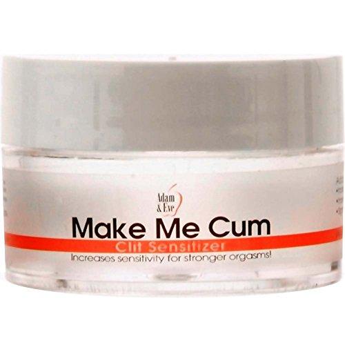 Adam & Eve Make Me Cum Clitoral Clit Sensitizer Cream : Size 0.5 Oz