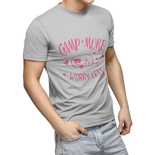 Bonamaison TRTSNG100027-XL Camiseta, Gris, 54 Unisex Adulto