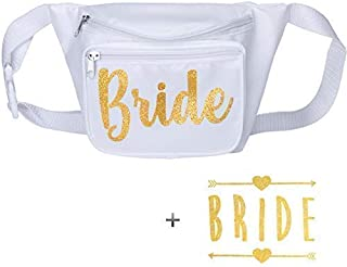 Bachelorette Party Bride Squad Fanny Pack with Bride Tattoo