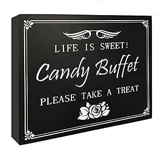 Best sweet buffet sign Reviews