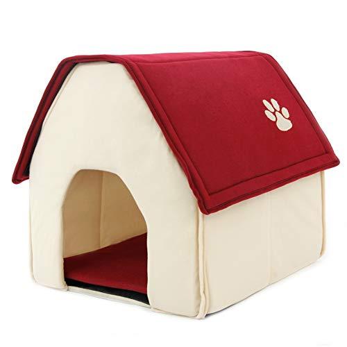 Hondenmand Zachte hondenkennel Hondenhok voor huisdieren Kat Puppy Huisvorm Dieren Huisproducten voor verwijderbare dieren