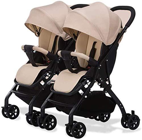 Buy Discount Xinhuatian Twin Baby Stroller Detachable Lightweight Adjustable Backrest Folding Shock ...