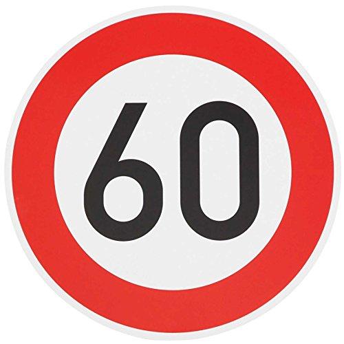 ORIGINAL Verkehrszeichen 60 Geburtstagsschild Verkehrsschild Geburtstag Schild Straßenschild