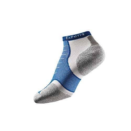 Thorlo Experia No Show Chaussettes Mixte Adulte, Royal, FR (Taille Fabricant : XS)