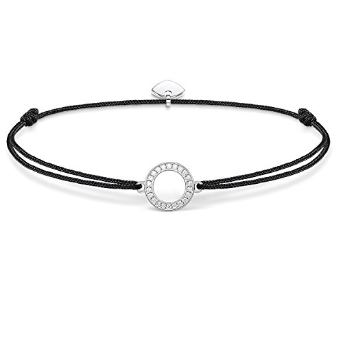 Thomas Sabo Damen-Armband Little Secrets 925 Silber Zirkonia weiß 20 cm - LS010-401-11-L20v