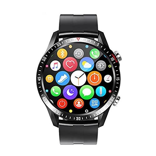 Wrist watch Reloj Inteligente De 1,28' P67ATM A Prueba De Agua Múltiples Modos De Ejercicio Monitor De Sueño Batería De Larga Duración Pulsera Hombre Mujer Negra