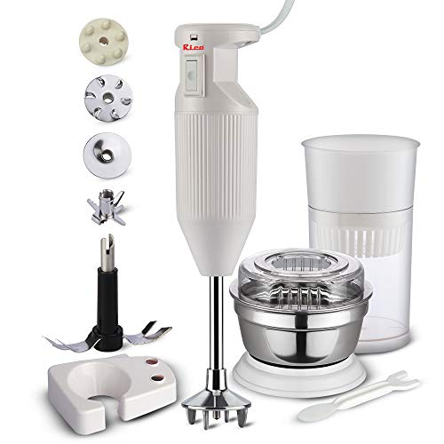 Rico Hand Blender with Chutney and Juice Jar, Low Noise and Quick...
