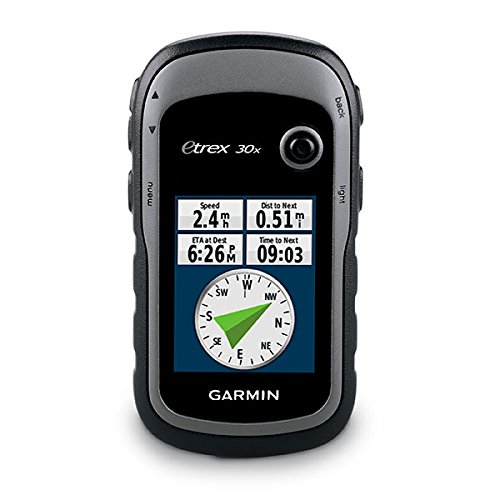 Garmin eTrex 30x, Handheld GPS Navigator with 3-axis Compass,...