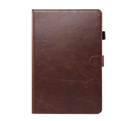 HHF Tab Accessories For Samsung Galaxy Tab S6 Lite 10.4 SM-P610 P615, PU Leather Protective Cover Lite Luxury Case for Samsung Tab S6 Lite (Color : Brown, Size : P610)