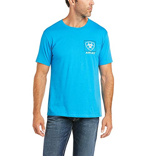 ARIAT Linear T-Shirt Turquoise