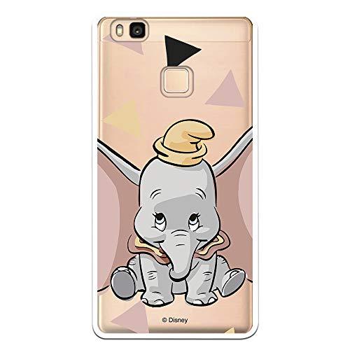 Funda Oficial Disney Dumbo Silueta Transparente para Huawei P9 Lite Licencia Oficial de Disney