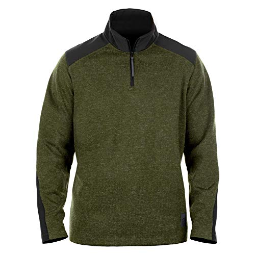 Magpul Men's Commando Zip Neck Sweater, Rifle Green, X-Large
