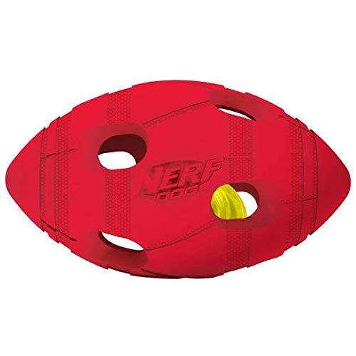 Nerf Dog Illuma-Action-LED: Bash voetbal Ø 13,7 cm