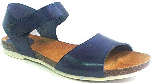 Jonny´s Sandale, Größe 38, Antikleder Marino (blau), 2459-17