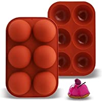 2-Pack Annamm 6-Cavity Silicone Molds