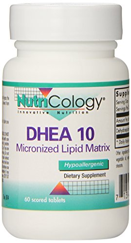 Nutricology Dhea 10 Mg Sustained Release Tablets, 60 Count