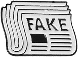 AkinaWay Trump Fake News Brooch