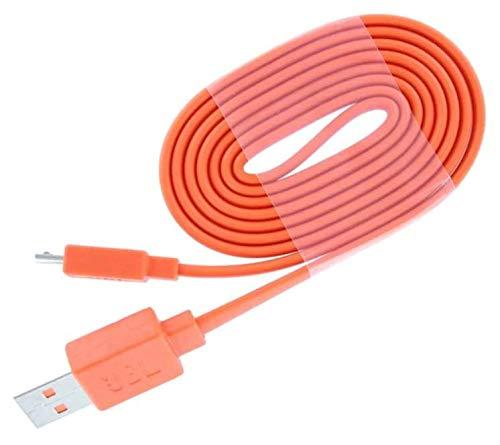 USB Kabel 1m Orange passend für: Flip 2/3/4, Charge 2, Pulse2, E45BT und JBL E55BT