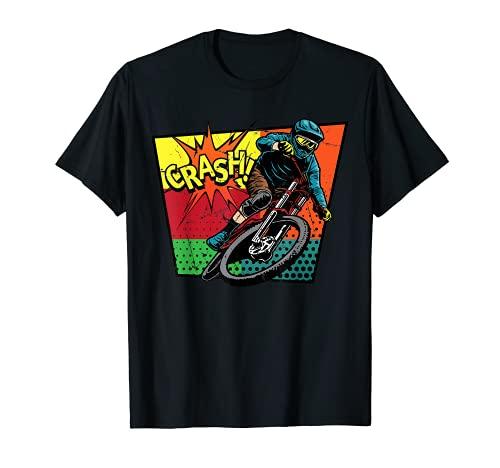 Pop Art - Crash! - Biker - Biking - Comic Book - Nineties T-Shirt