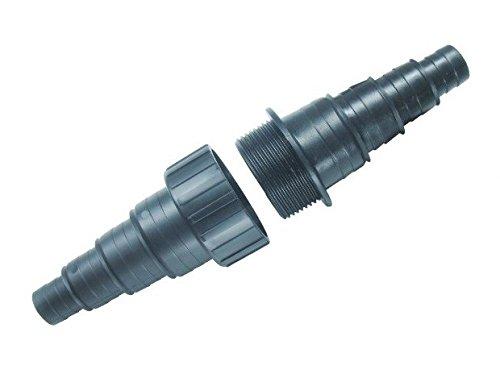 AquaOne CMT-101 Schlauchverbinder 20/25/32/40mm Verbinder Teichschlauch Bachlauf Teich Adapter Schlauch Reduzierung Reduzierstück Schlauchadapter Anschluss