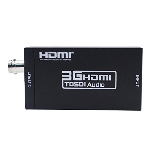 Gazechimp HDMI Zu SDI Videokonverter SDI/HD SDI / 3G SDI Adapter 1080P Für Kamera