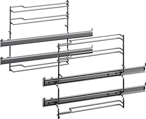 Bosch HEZ538200 Zubehör für Backöfen / Auszugsystem / 2-fach Teleskopauszug / Edelstahl