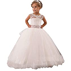 1754a477bc CustomDress Baby Princess Bridesmaid Flower Girls Dresses Wedding Prom Gown  (8