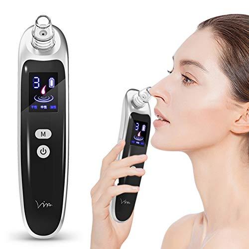 ZBYL Cara Nariz Limpiador de poros Herramienta de eliminación de acné de espinilla Limpiador de poros de succión por vacío Profundo