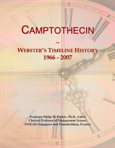 Camptothecin: Webster's Timeline History, 1966 - 2007