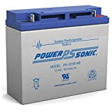 Power Sonic 12V 18AH SLA Battery Replacement for Black Decker Electromate 400