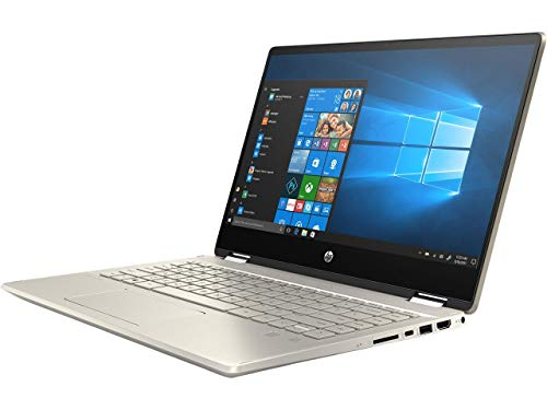 HP Pavilion x360 14-dh2077nr Intel Core i5 10th Gen 1035G1 (1.00 GHz) 8 GB Memory 256 GB SSD Intel UHD Graphics 14' Touchscreen 1920 x 1080 Convertible 2-in-1 Laptop Windows 10 Home 64-bit