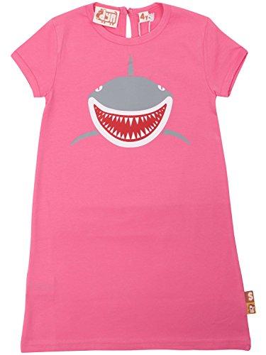 Danefae DYR by Kleid Shirtkleid pink mit Hai Print Shark Gr. 4Y /104