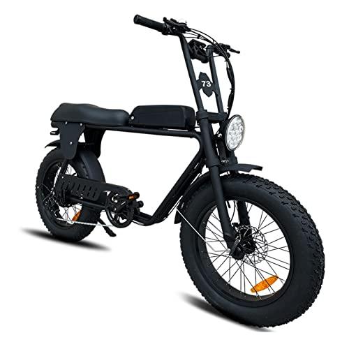 Liu Yu·casa creativa Bicicleta eléctrica 1000W Motor 4.0 Fat Tire Ebike 48V 17Ah Bicicleta de montaña Bicicleta de Nieve Bicicleta Deportiva Bicicletas eléctricas (Color : 48v 1000w 17Ah)