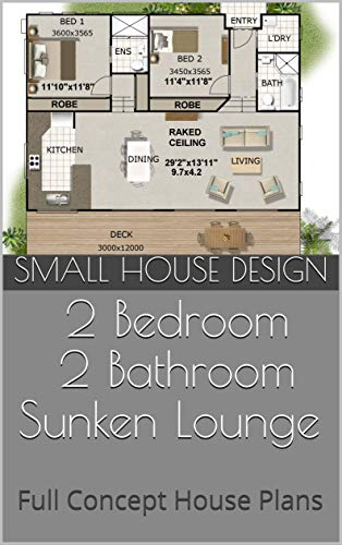 Amazon Com Small House Design 141kr 2 Bedroom 2 Bathroom Sunken Lounge Full Concept House Plans Ebook Morris Chris Designs Australian Kindle Store,Home Designingcom Bedroom