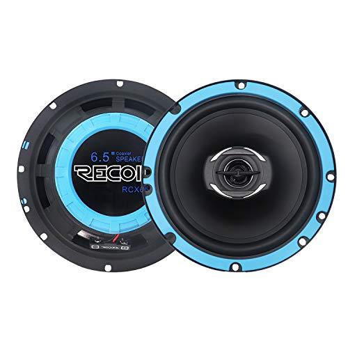 RECOIL RCX65 Echo Series 6.5-Inch Car Audio Coaxial Speaker System