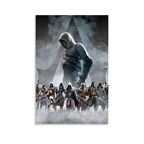 DRAGON VINES Assassin's Creed Serie Protagonist Full Collection Cool Wall Art Prints Decorative Fine Art Poster Print ungerahmt 20 x 30 cm