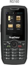RugGear RG160, Unlocked Rugged Smartphone - Waterproof IP68-3G Android Touchscreen (3G 850/1900MHz in the Americas, 3G 2100MHz in Europe, Asia, Middle East, Africa)