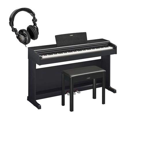 Read About Yamaha Arius YDP-144 88-Key Traditional Console Digital Piano with Bench & PA150 AC Power...