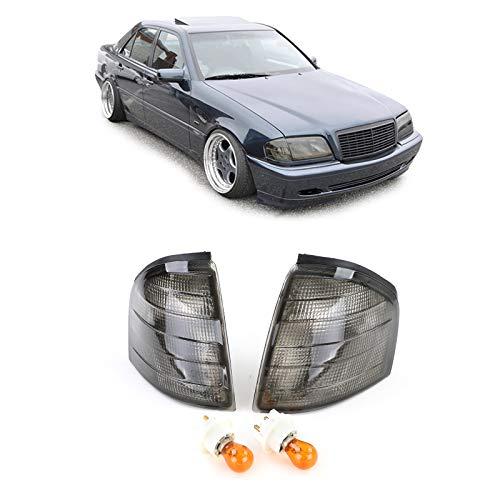 Carparts-Online 27514 Blinker schwarz smoke Paar