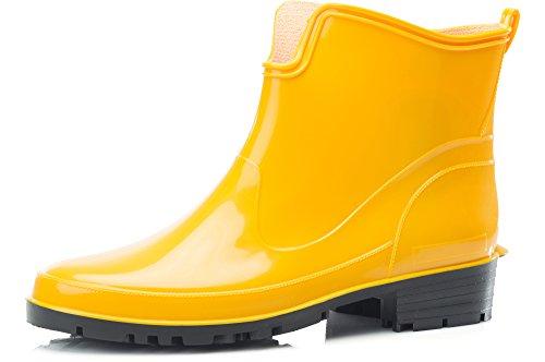Botines de Agua de mujer amarillos