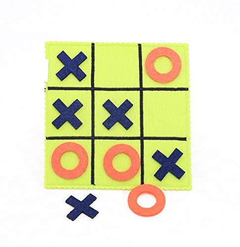 Tantino Tic TAC Toe Handamde Toy Felt Travel Montessori Early Learning Educational Matching Life Skills