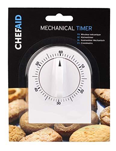 OLPRO Mechanischer Timer, Weiß
