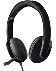 ロジクール ヘッドセット パソコン用 H540r ステレオ USB接続 ノイズキャンセリングマイク 搭載 テレワーク リモートワーク Web会議 国内正規品 2年間メーカー保証